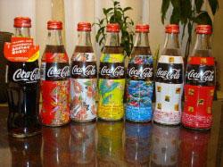 オリンピック記念やアロハ柄のコカコーラ  飲めますが、飲みません